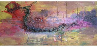 Andrei Autumn; Improvisation No74, 2013, Original Painting Acrylic, 41 x 20 inches. Artwork description: 241 Original abstract acrylic hand- made painting on canvas, unframed. The painting is signed on the back. ...