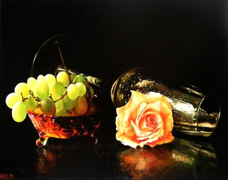 Abed Alem; Love, 2011, Original Painting Oil, 50 x 40 cm. Artwork description: 241  still life love abed alem light still life ...