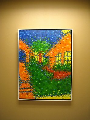 Artie Abello; Home, 2009, Original Painting Oil, 30 x 40 inches.