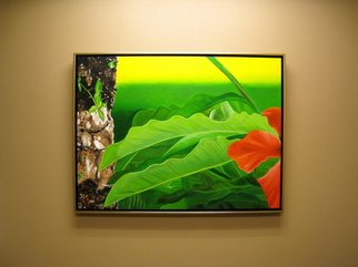 Artie Abello; Leafcutters, 2009, Original Painting Oil, 40 x 30 inches.
