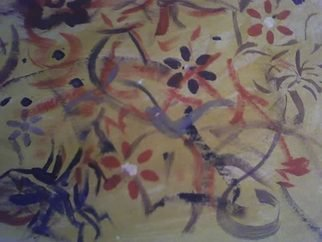 Ann Cline; Flora  Day, 2007, Original Painting Acrylic, 9.5 x 12 inches.