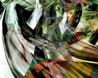 Adriana Ricciardi; abstract 3, 2010, Original Digital Art, 50 x 40 cm. Artwork description: 241      The series abstract 1 to abstract 6 is based on digital photography that is turned into an abstract pictorial field.   ...