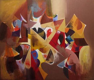 Alexander Sadoyan; Triumph, 2005, Original Painting Oil, 36 x 30 inches. Artwork description: 241  Abstract painting ...