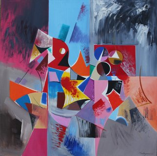Alexander Sadoyan; Untitled, 2011, Original Painting Oil, 36 x 36 inches. Artwork description: 241          Abstract painting         ...