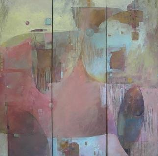 Alexandra Kruglyak-Zecevic; Elegia, 2009, Original Painting Acrylic, 24 x 24 inches. Artwork description: 241    Set of 3 paintings, will not be sold separately. ...