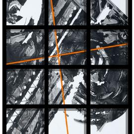 Alexey Klimov, , 2009, Original Painting Other, size_width{timeless_behind_bars_in_black-1483463425.jpg} X 30 inches