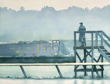 Artist: Alexis Burris', title: 210  Morning Numbers, 2000, Printmaking Giclee