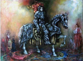 Alexandr Ivanov; Strangenesses Of Dreams, 2008, Original Painting Oil, 84 x 60 cm.