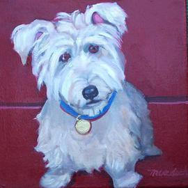 Alice Murdoch, , , Original Painting Oil, size_width{Dog_Portrait-1135978957.jpg} X 14 inches