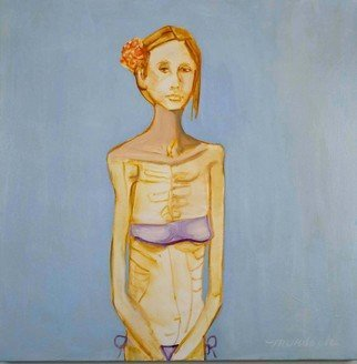 Alice Murdoch; Gorgeous, 2011, Original Painting Oil, 32 x 32 inches. Artwork description: 241  Being Gorgeous                       ...