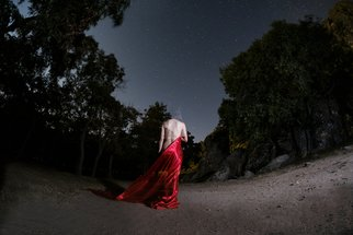 Alp Basol; Nymph With Stars, 2018, Original Photography Color, 70 x 50 cm. Artwork description: 241 print on high- quality photography paper...