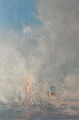 Alessandro Beltrame; Aurora Consurgens IV The ..., 1997, Original Painting Oil, 23 x 33 inches.