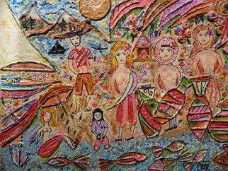 Alvaro Amejeiras; WATER HOLE IN THAILAND, 2010, Original Painting Acrylic, 25 x 18 inches. Artwork description: 241               xxx              ...