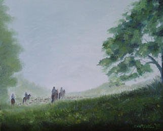 Eleanor Hartwell; Early Morn, 2003, Original Painting Oil, 16 x 12 inches.
