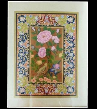 Amir Rahnama; My Garden, 2017, Original Painting Acrylic, 1 x 13 inches. Artwork description: 241 Acrylic miniature goache flower ...