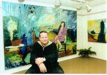 Artist: Allan Axelsen's, title: Allan Axelsen at Galerie No..., 2001, Other
