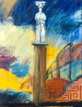 Artist: Allan Axelsen's, title: Dream of Capella 4 Greek, 2002, Painting Oil