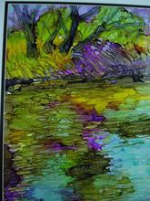 Artist: Andree Lisette Herz's, title: riverrun, 2013, Painting Ink
