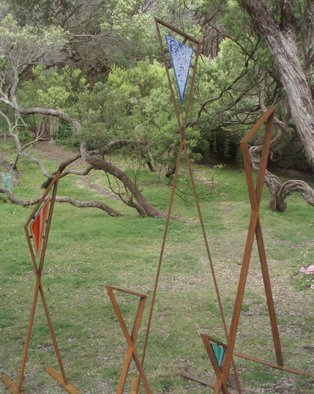 Andrew Kasper, Tribe, 2009, Original Sculpture Steel,    inches
