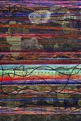 Andrew Mercer; Northumberland, 2009, Original Printmaking Giclee, 66 x 100 cm. Artwork description: 241   A work based on the colors, shapes and textures of Northumberland in the north of England.     ...
