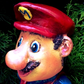 Angel Piangelo Papangelou, , , Original Sculpture Mixed, size_width{SUPER_MARIO_FANTASY_WORLD_I-1543968725.jpg} X 35 cm