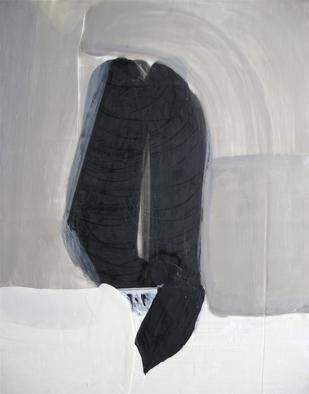 Antoaneta Hillman; Embrasement, 2012, Original Painting Encaustic, 12 x 14 inches. Artwork description: 241                        encaustic, painting, withe, abstract,            minimalistic, black, white, encaustic, people,     black, white, encaustic , minimalistic, abstract     ...