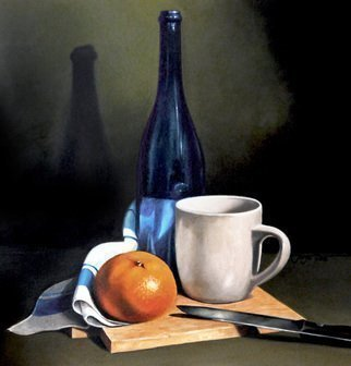 Jorge Paz; Still Life, 2018, Original Painting Oil, 18 x 18 inches. Artwork description: 241 Oil painting on canvas. ...