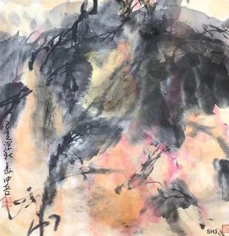 Chongwu Ao; Sh 3 In Autumn, 2019, Original Painting Ink, 68 x 68 cm. Artwork description: 241 Original Abstract Ink Painting On The Rice Paper. Freedom your true feelings is the portrayal of my artworks. It shows Asian cultural elements and humanistic spirit and is magnificent, open, natural, and has no limit. ...