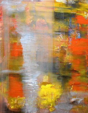 Arrachme Art; The Prophet, 2020, Original Painting Oil, 14 x 11 inches. Artwork description: 241 A deep rich warm subtle abstract expression painting of bold oranges and yellow color signals happy connection and communication.  Oil Painting on board.  ...
