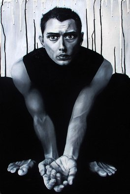 Mel Fiorentino; My Everything, 2010, Original Painting Acrylic, 20 x 36 inches. Artwork description: 241 Painting of Jude Law. ...