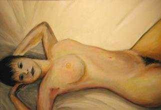 Rodolfo Chavarriaga; Nude Woman, 2000, Original Painting Acrylic,   inches. Artwork description: 241  study nude woman...