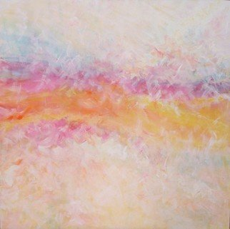 Beverley Mcquillan; Soft Wave, 2007, Original Painting Oil, 4 x 4 feet. Artwork description: 241  movement, balance and color ...