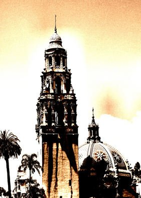 Tammy Gatten; The Tower, 2008, Original Photography Other, 16 x 20 inches. Artwork description: 241  Tower at Balboa Park , San Diego, California, USA ...