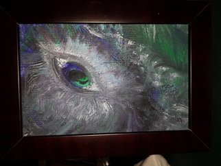 Sherry Evaschuk, An eye on you, 2014, Original Painting Acrylic, size_width{An_eye_on_you-1392735757.jpg} X 6 inches
