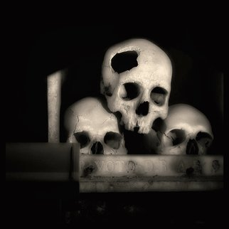 Augusto De Luca; skull 1 - by augusto de luca, 2017, Original Photography Black and White, 1.1 x 1.1 inches. Artwork description: 241 Skull 1 - by Augusto De Luca. ...