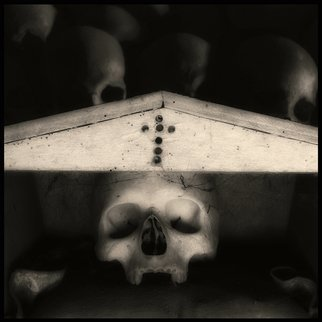Augusto De Luca; skull 5 - by augusto de luca, 2017, Original Photography Black and White, 1.1 x 1.1 inches. Artwork description: 241 Skull 5 - by Augusto De Luca. ...