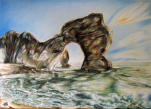 Artist: Austen Pinkerton's, title: DURDLE DOOR, 2012, Mixed Media