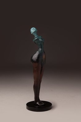 Avril Ward; Earthmother evolution, 2012, Original Sculpture Bronze, 6 x 19 inches. Artwork description: 241  Limited edition bronze...