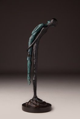 Avril Ward; Brothers Keeper, 2014, Original Sculpture Bronze, 6 x 20 inches. Artwork description: 241       Limited edition bronze       ...