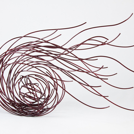 Andrea Waxman Mulcahy, , , Original Sculpture Steel, size_width{Waves-1305924104.jpg} X 29 inches
