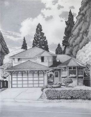 Gabriella Morrison, Campbell House, 2005, Original Drawing Pencil, size_width{Campbell_House-1126022559.jpg} X 22 x  inches