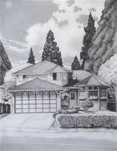Artist: Gabriella Morrison's, title: Campbell House, 2005, Drawing Pencil