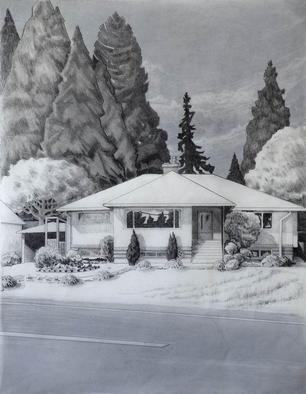 Gabriella Morrison, Guenther House, 2005, Original Drawing Pencil, size_width{Guenther_House-1126023399.jpg} X 22 x  inches