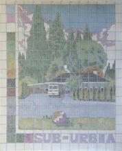 Artist: Gabriella Morrison's, title: Suburbia a Pattern, 2005, Painting Other