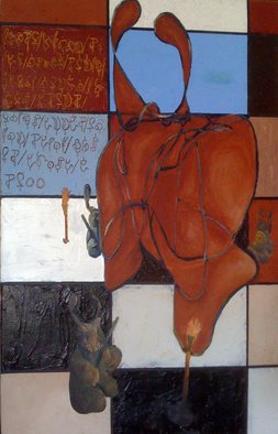 Chad A. Carino; Offer Not Carrots But Onl..., 2009, Original Painting Acrylic, 30 x 40 inches. Artwork description: 241  Isn't it obvious? ...