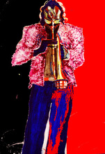 Artist: Barry Boobis', title: Miles Davis painting artwor..., 2012, Mixed Media