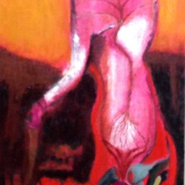 Becky Soria, , , Original Painting Acrylic, size_width{Glimpsing_Transient-1511559768.jpg} X 36 inches