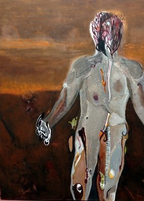 Becky Soria, In your absence, 2015, Original Painting Acrylic, size_width{In_your_absence-1450545050.jpg} X 48 x  inches