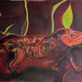 Becky Soria, , , Original Painting Acrylic, size_width{Within_Nature-1407330155.jpg} X 48 inches