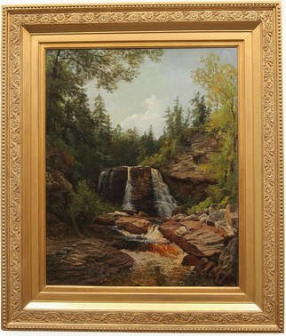Bedford Fine Art Gallery; blackwater falls, 1950, Original Painting Oil, 26 x 21 inches. Artwork description: 241 Key was born in Hagerstown, Maryland, but was raised in Washington, D. C. by his famous grandfather, Francis Scott Key, who penned the lyrics to our national Anthem. Key began his art career relatively lateaEUR